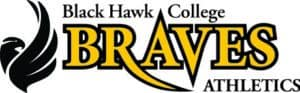Black Hawk College Braves Athletics logo