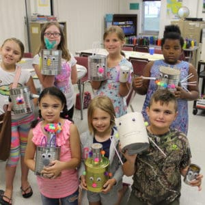 Professional and Continuing Education Art Camp participants