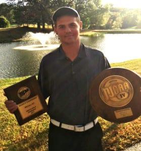 Golf Medalist Jake Beck