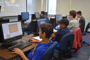 Gaming Camp computer lab