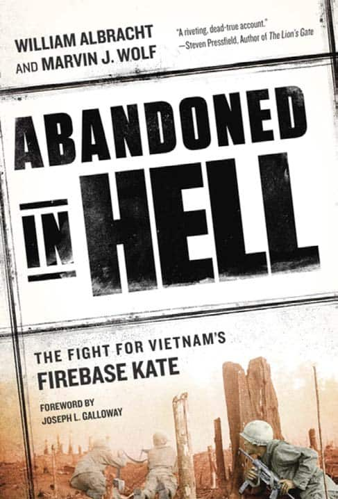 Cover of William Albracht book Abandoned in Hell