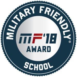Military Friendly School 2018 logo