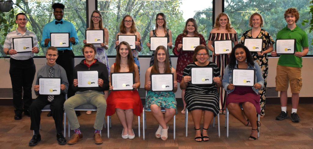 Presidential Scholars 2018 group shot