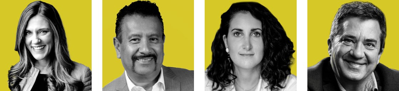 Leadercast 2020 speakers Martin, Montanez, Harfoush, Cloud