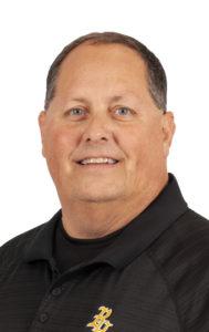 Assistant coach Dan O'Keeffe