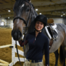 Horse science instructor enjoys challenge of riding