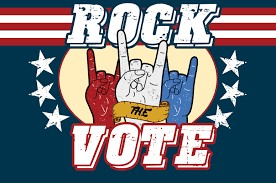 hand signals to rock the voted