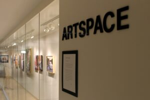 ArtSpace on white wall