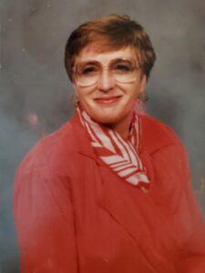 head & shoulders portrait of Diana Corley Schnapp