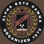 Alpha Beta Gamma business honor society logo