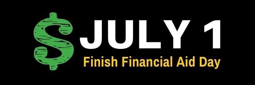 july 1 financial aid logo