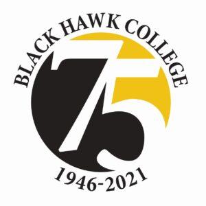 75th anniversary logo square