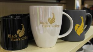 coffee mugs in the Hawks Hub
